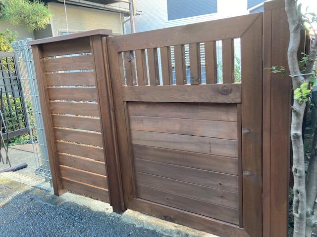 2021年初の木戸作り。なかなかムード良くできた