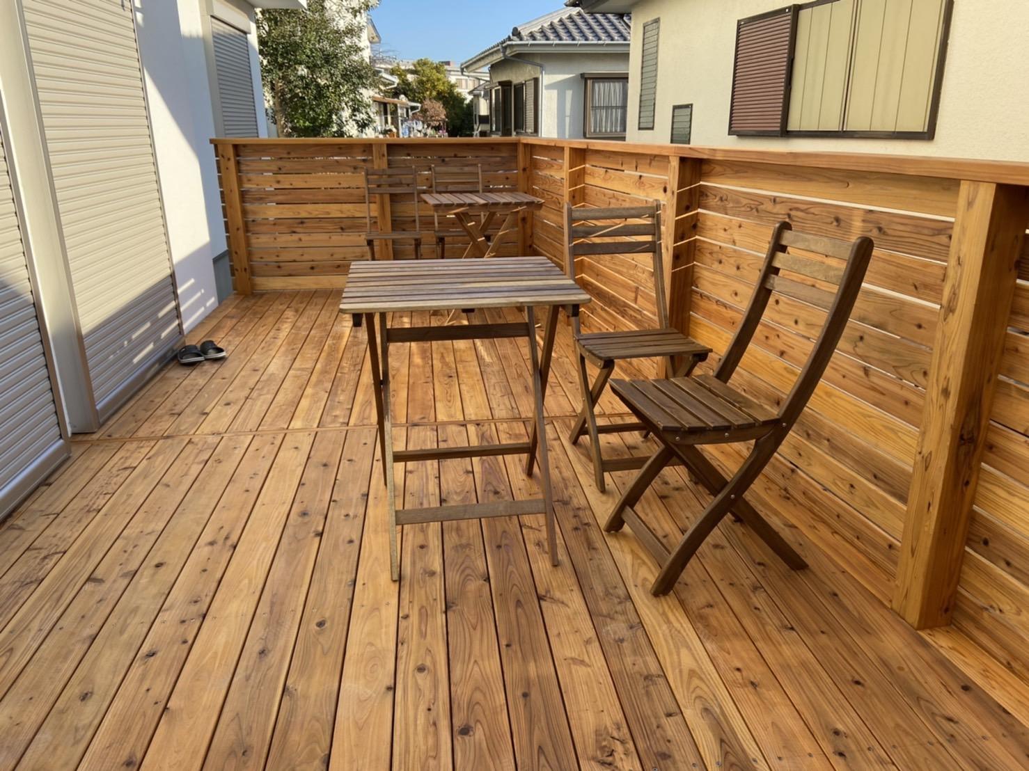 屋久島の杉材使用 なんか神々しい木材