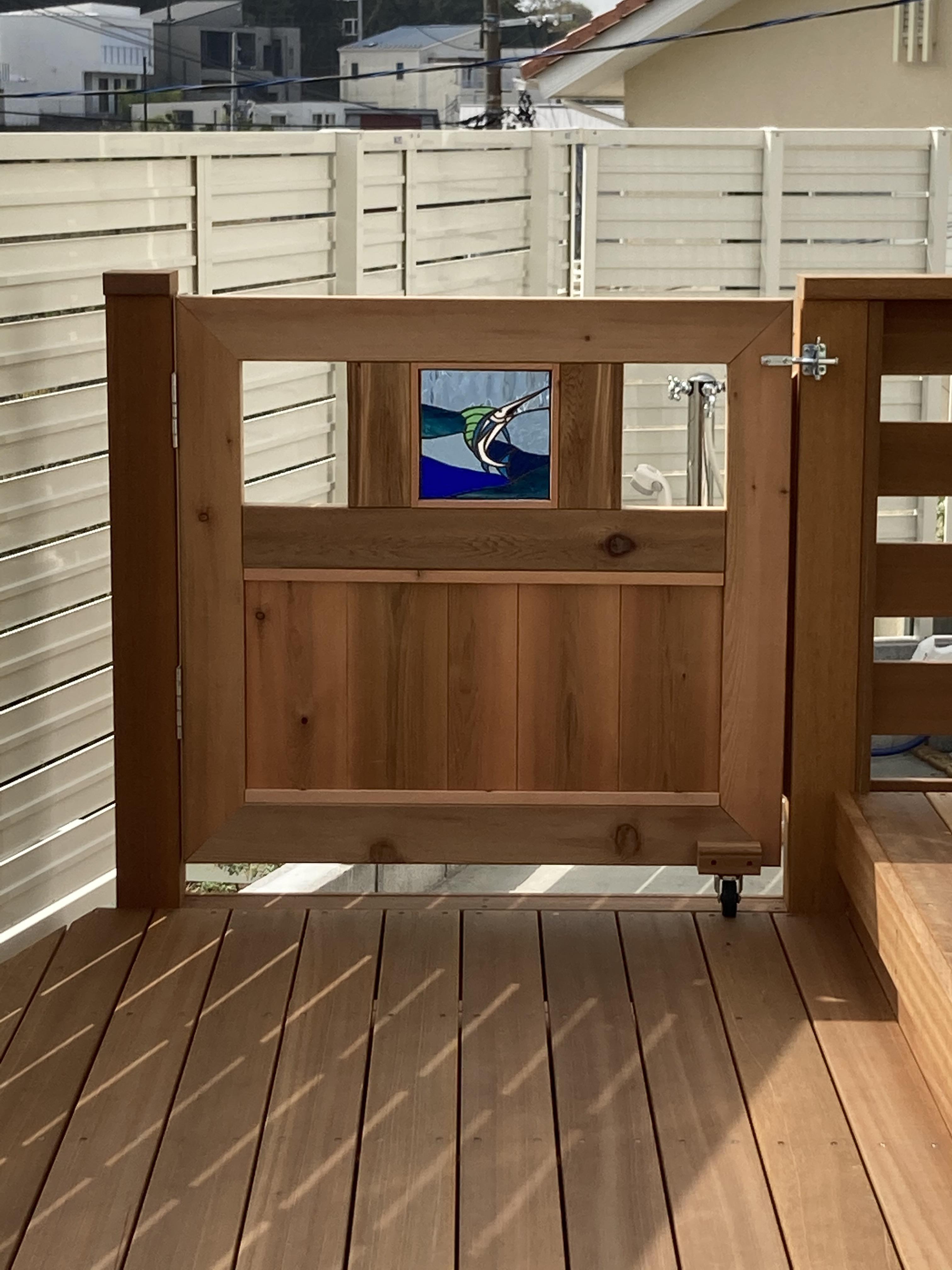 釣り好きのための木戸